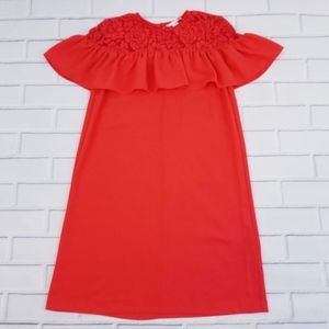 NWOT H&M Red Dress with Lace